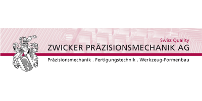 Logo Zwicker Präzisionsmechanik AG