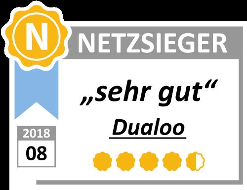 Netzsieger Siegel Dualoo